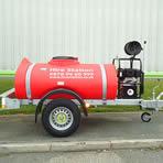 Bowser & diesel pressure washer
